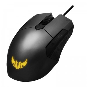 ASUS P304 TUF GAMING M5 Wired Ambidextrous Ergonomic RGB Gaming Mouse, Aura Sync, 6200dpi (P304) (LS)