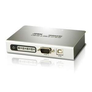 Aten Serial Hub 4 Port USB to RS-485/422, Supports Hot-Swapping & Plug and Play, (LS)