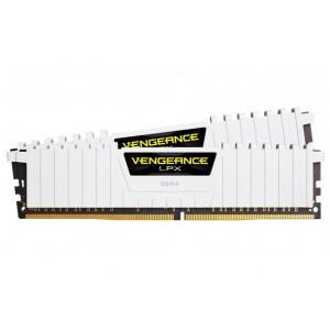 Corsair Vengeance LPX White 16GB (2x8GB) 3200MHz C16 DDR RAM CMK16GX4M2B3200C16W