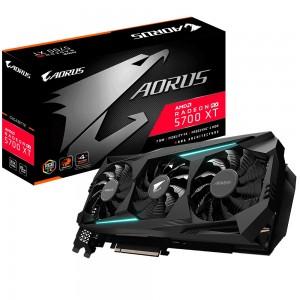Gigabyte AMD Radeon Navi Aorus RX 5700 XT V2 8GB GDDR6 PCIe Graphic Card 8K 7680x4320@60Hz 6xDisplays 3xDP 3xHDMI 2010/1770MHz FreeSync RGB2.0