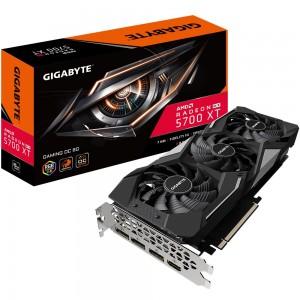 Gigabyte AMD Radeon Navi RX 5700 XT Gaming 8GB GDDR6 2.0 PCIe Graphic Card 8K 7680x4320@60Hz 4xDisplays 3xDP HDMI 1905/1650MHz FreeSync 2 HDR RGB2.0