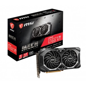 MSI AMD Radeon RX 5700 XT MECH OC 8GB GDDR6 PCIe Graphic Card 7680x4320 4xDisplays 3xDP HDMI 1925/1670 MHz Torx fan 3 FreeSync ~VCM-RX5700XTEVOKEOC