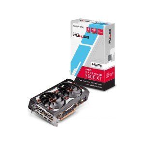 SAPPHIRE AMD RADEON PULSE RX 5600 XT 6GB GDDR6 HDMI / TRIPLE DP OC W/BP (UEFI) VGA CARD 1750MHz Boost, 14Gbps Memory Speed