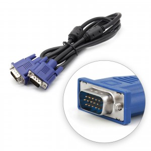 OEM VGA Male to Male PC Monitor TV Projector Cable 1.5M