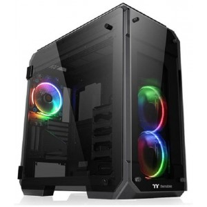 Thermaltake View 71 Tempered Glass RGB Edition Full Tower Case Black CA-1I7-00F1WN-01