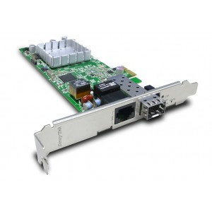 DrayTek VigorNIC 132F VDSL2/ADSL2+ PCI Express NIC with Security Firewall and SFP secondary WAN port
