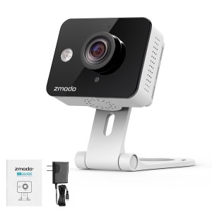 Zmodo 720P Indoor Wireless WiFi Security IP Camera Two way Audio Remote Access