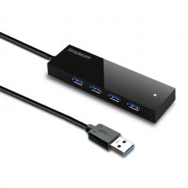 Simplecom USB 3.0 External 4 Port HUB Built-in 0.5M Cable For PC Laptop CH341
