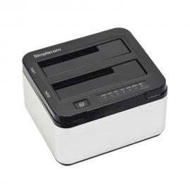 Simplecom SD322 Dual Bay USB 3.0 Aluminium Docking Station for 2.5